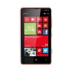 Valentine (Brun Fjäril - Vit Himmel) Nokia Lumia 820 Skal