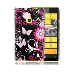 Valentine (Rosa Fjärilar) Nokia Lumia 520 / 525 Skal