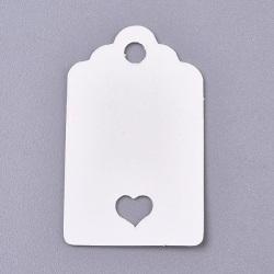 100st Prislappar - Etiketter Hjärta