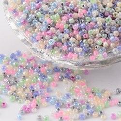 Seed beads - Mixade färger pastell - 2mm ceylon - 3000st