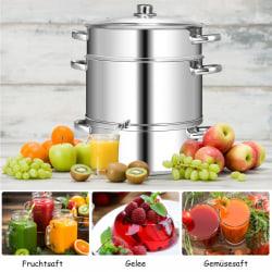 Fruktjuicer av rostfritt stål Ångjuicer