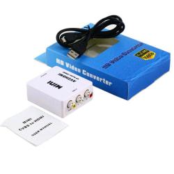 AV Adapter till HDMI 1080p