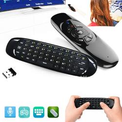 2.4G Mini fjärrkontroll Trådlöst tangentbord Air Mouse PC TV Box