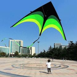 Long Tail Kite för barn vuxna 1,6 m super enorm drake lätt att flyga