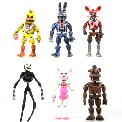 6-pcak Five Nights at Freddy's Removable Model Action Figure Toy