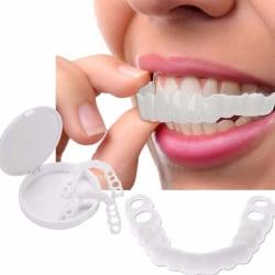 1 SET Safe Silikon Imitation Covers Artificial Tooth Cover