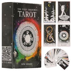 78 st The Wild Okänd Tarot Deck Rider-Waite Set Telling Card As Pics