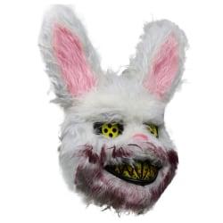 Vuxna Barn Bunny Rabbit Mask Games Halloween kostym Fancy Prop Rabbit