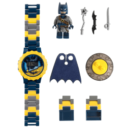 Barnbyggnadsmontering Elektronisk armbandsur Batman