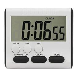 LCD Digital Kitchen Cooking Timer med högt väckarklocka Magnetic
