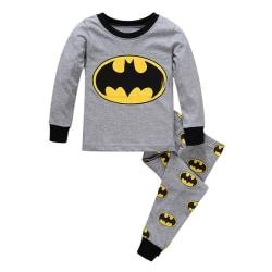 Child Spiderman Batman Clothing Sets Outfits grey 110 cm