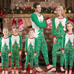 Barn vuxna familj matchande kläder Xmas 4T