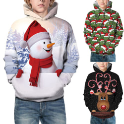 Jul Hoodie Sweatshirt Pullover Barn Varm Varm