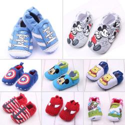 Bekväma mjuka skor för barn Spädbarn mot barn 12