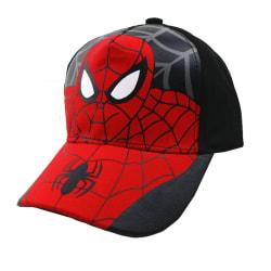 Barnpojkar Spiderman Baseball Cap Hip Hop Mesh Snapback Sport Black