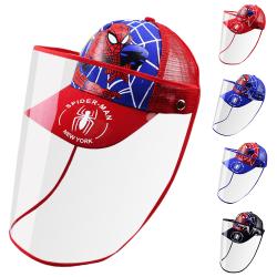 Barn pojke flicka skyddande säkerhetsöverdrag hatt spottande basebollkeps All Red