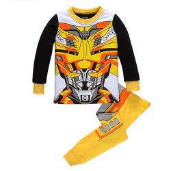 Barnpojkar Superhjälte Nattkläder Pyjamas Transformers Pyjamas Transformer 4-5 Years