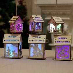 LED-dekor Julljusfönster Bröllopsfest Ornament old man S