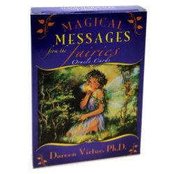 Magiska meddelanden från Fairies Oracle Cards Tarot Psych Tops