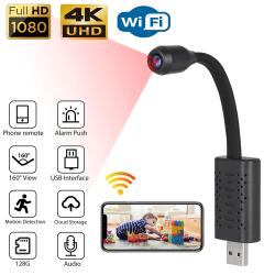 Mini 1080P HD USB IP Trådlös säkerhetsvideokamera Night Vision