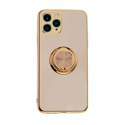 Mobilskal Ringhållare iPhone 11 12 Pro Max XS XR X 8 7 Plus golden iphone 12mini