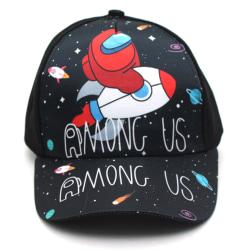 Ny barnflicka bland oss Snapback-tecknad sporthatt för basebollkeps A