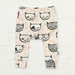 Nyfödd Baby Cartoon Fox Printed Long Pants As Pics 100 cm