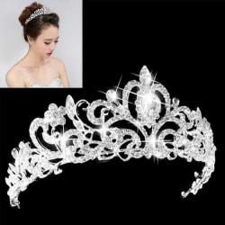 Princess Bridal Crystal Wedding Hair Tiara Rhinestone Headband