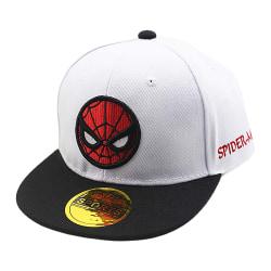 Spiderman Boy Girl Baseball Cap Barn Snapback Barn Sport Hat White Adjustable