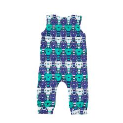 Småbarn Spädbarn Baby Boy Girls Printed Romper Jumpsuit Summer Set blue 70 cm