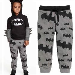 Småbarn Kids Boy Batman Harem Pants Bottoms Leggings 120 cm
