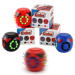 Toy Magic Bean Rubiks Cube Kids Children's Development Toys Black