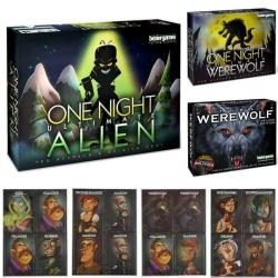 Ultimate Werewolf Brädspel Expansion Games Sealed Toys Gifts werewolf
