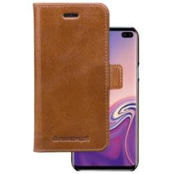 dbramante wallet bookcover copenhagen - tan - for samsung S10+ Brown