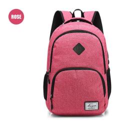 Ryggsäckar  rosa röd
