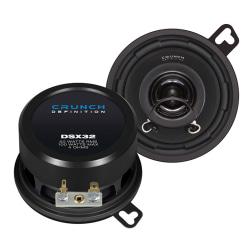 "Crunch DSX32,3,5"" koax,bilhögtalare,billjud,custom-fit"