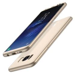 Skyddsfodral fram+bak för Galaxy S8+ (2 delar) Guld