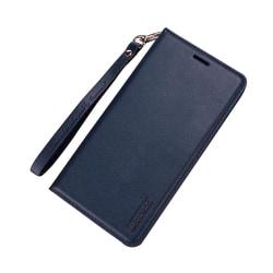 Smart och Stilsäkert Fodral med Plånbok - Samsung Galaxy A6 Plus Marinblå
