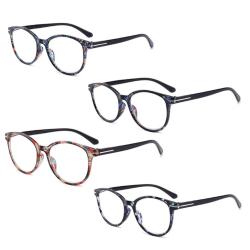 Praktiska Läsglasögon (+1 - +4) Rosa 1.5