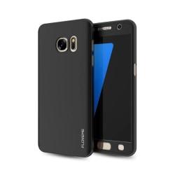 Praktiskt Skyddsfodral för Galaxy S6  (3 delar) Svart