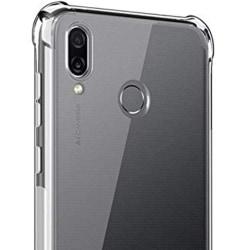 Smidigt Extra Skyddande Skal - Huawei Honor Play Transparent/Genomskinlig