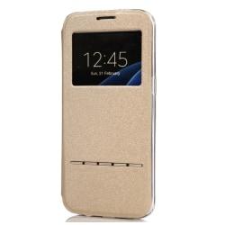 LG G5 - Smartfodral med Svarsfunktion Guld