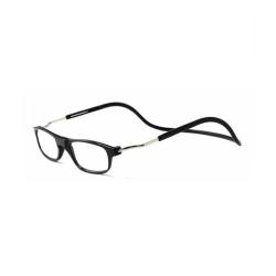 Smarta Läsglasögon med Magnet Svart 2.5