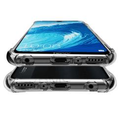 Kraftfullt Skyddsskal i Silikon - Samsung Galaxy A9 2018 Transparent/Genomskinlig