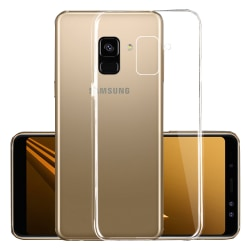 Samsung Galaxy J6 2018 - Smart Skyddsskal i Silikon från FLOVEME Transparent/Genomskinlig