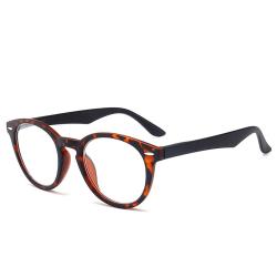 Bekväma läsglasögon med lång livslängd Brun 4.0