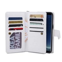 Stilrent 9-Korts Plånboksfodral Sedelfack (Tomkas) iPhone X/XS Vit