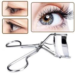 Praktiskt Professionell Ögonfransklämma (Hög Kvalitet) Silver