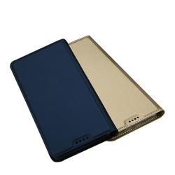 DUX DUCIS Stilrent Fodral med Kortfack - Samsung Galaxy A6 Plus Guld
