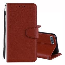 Skyddande Plånboksfodral - Huawei Honor 10 Svart
